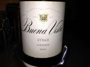 2009 Buena Vista Syrah