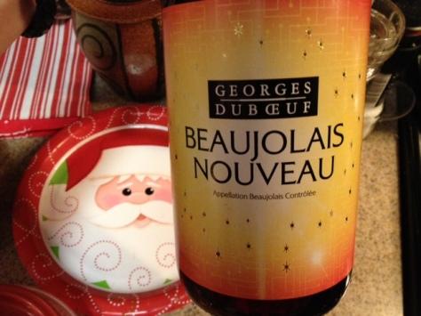 Georges Duboeuf 2012 Nouveau, Beaujolais, France.
