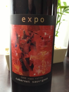 2008 Expo Cabernet Sauvignon, Napa Valley, California, USA. Featuring the artwork of Carol Schinkel of Fort Collins, CO.