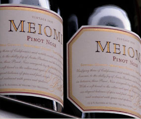 Meiomi 2011 Pinot Noir, Rutherford, California, USA.