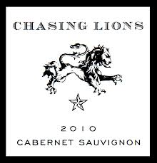 Chasing Lions 2010 Cabernet Sauvigon, North Coast, California, USA