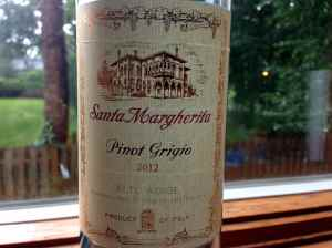 Santa Margherrita, Pinot Grigio, 2012, Italy.
