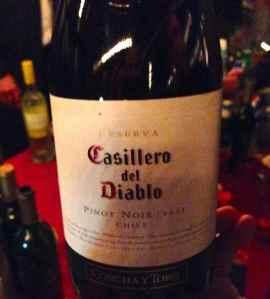 2012 Casillero del Diablo Pinot Noir, Chile