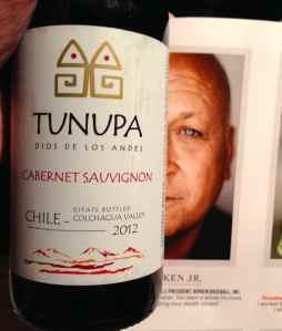 2012 Tunupa Dios Los Andes, Cabernet Sauvignon, Chile