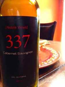 2011 337 Cabernet Sauvignon, Lodi, California, USA.