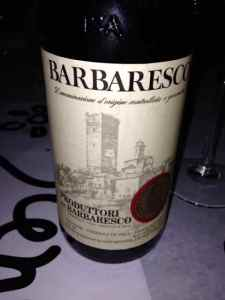 Barbaresco Produttori 2007, Piedmont, Italy.