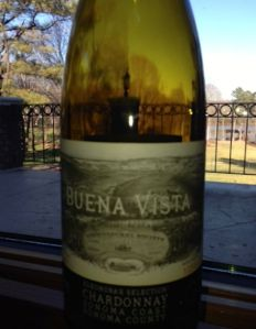 2009 Elenora's Selection Chardonnay, Buena Vista, Sonoma County, California, USA.