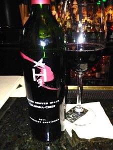 2011 Horse Heaven Hills Cabernet Sauvignon, Columbia Crest, Washington, USA.