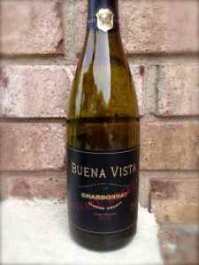 2012 Private Reserve Chardonnay, Buena Vista, Sonoma County, California, USA.