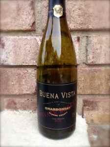 2012 Private Reserve Chardonnay, Buena Vista, Sonoma County, California, USA.