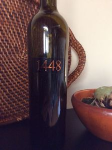 2011 vintage of Jeff Rundquist's 1448; Sierra Nevada California USA