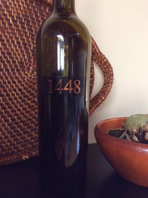 2011 vintage of Jeff Rundquist's 1448; Sierra Nevada California USA