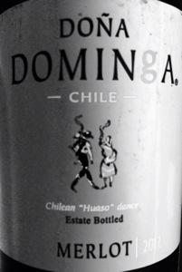 2014 Dona Dominga Merlot, Chile.