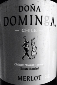 2012 Dona Dominga Merlot, Chile.