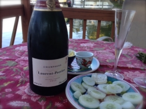 2010 Laurent-Perrier Champagne Maison Fondee 1812, France.