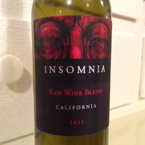 2011 Insomnia Red Wine Blend, California, USA.