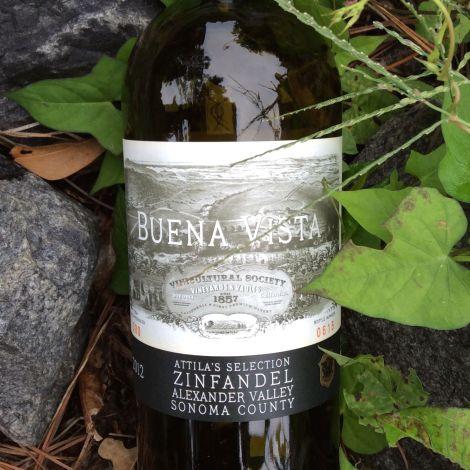 2012 Buena Vista Atilla's Selection Zinfandel, Alexander Valley, Sonoma County, California, USA.