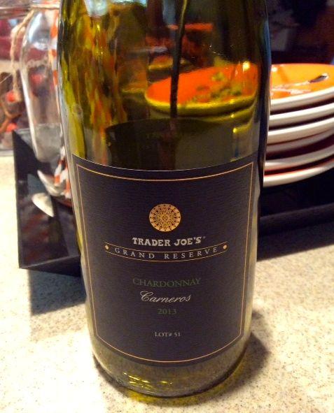 2013 Trader Joe's Grand Reserve Lot #51 Chardonnay Napa California USA