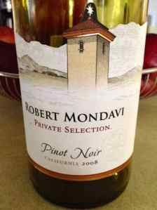 2008 Robert Mondavi Private Selection Pinot Noir