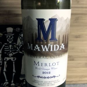 2012 Mawida Merlot Central Valley Chile