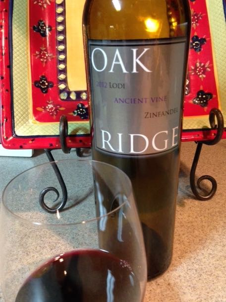 2012 Oak Ridge Ancient Vines Zinfandel, Lodi, USA.