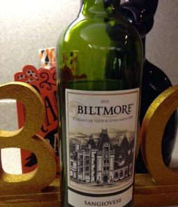 2012 Biltmore Sangiovese North Carolina USA