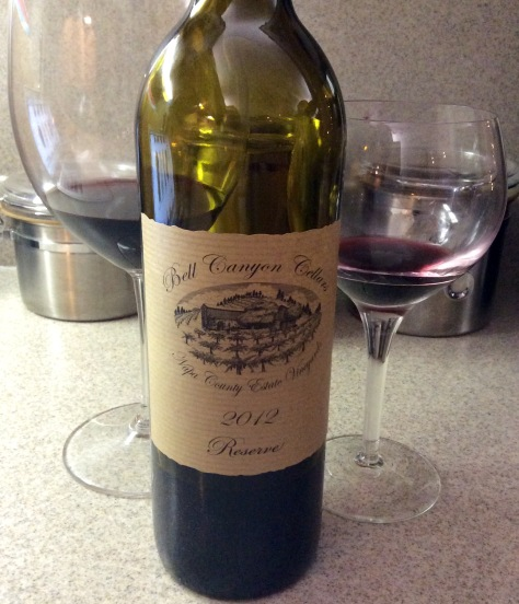 2012 Red Blend, Bell Canyon Cellars Napa Reserve, Napa, California, USA.