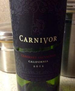 2012 Carnivor Cabernet Sauvignon California USA