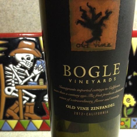2012 Old Wine Zinfandel, Bogle Vineyards, California, USA.