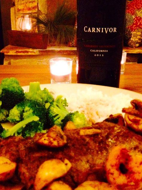 2012 Carnivor Cabernet Sauvignon, California, USA.