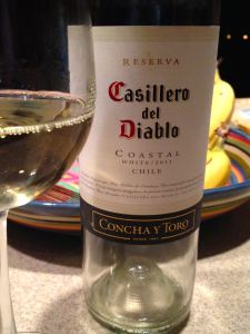 2011 Casillero del Diablo Reserva White, Limarí Valley, Chile.