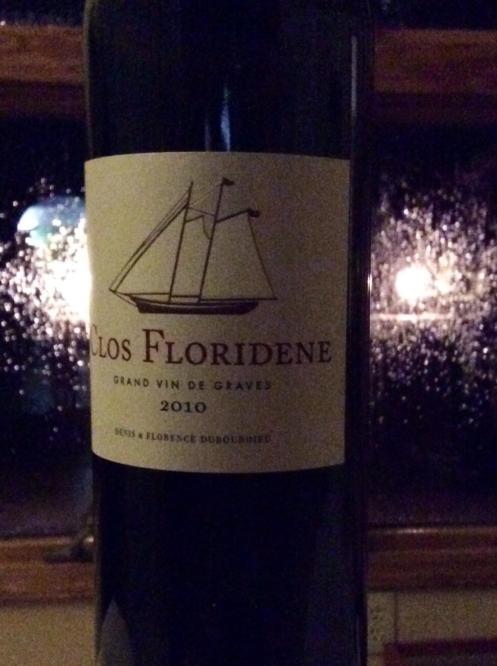 2010 Clos Floridene Grand Vin de Graves France