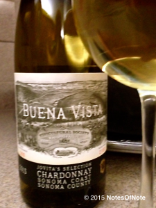 2013 Jovita's Selection Chardonnay Buena Vista Sonoma County California USA