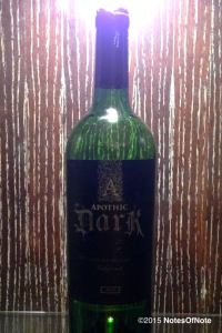 2013 Apothic Dark Limited Release, California, USA.