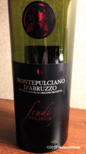2013 Feudi del Duca Montepulciano d'Abruzzo