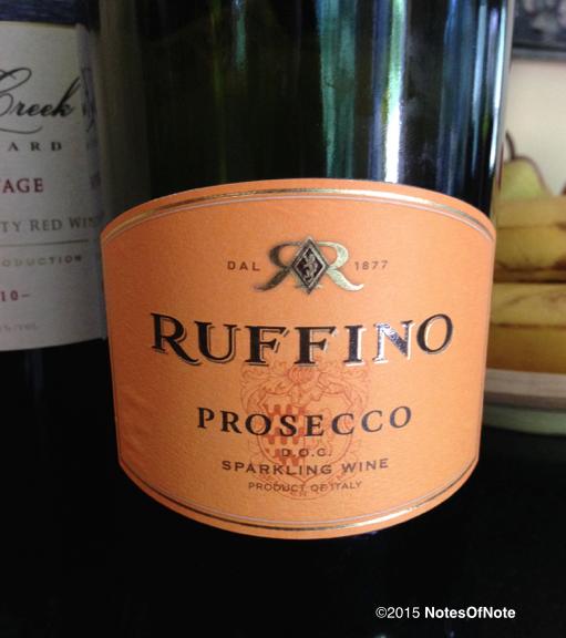 2013 Ruffino Prosecco, Italy.