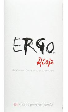2011 Ergo, Martín Códax, Rioja, Spain.
