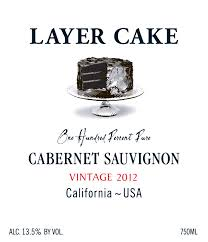 2012 Layer Cake Cabernet Sauvignon, California, USA.