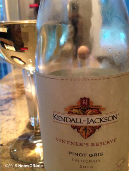 2013 Kendall-Jackson Vintner's Reserve Pinot Gris