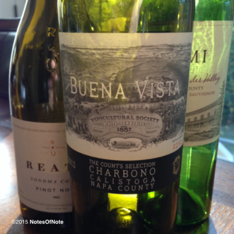 2013 Count's Selection, Charbono, Buena Vista Winery, Sonoma, California, USA.