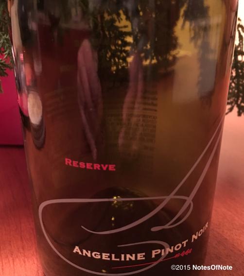 2013 Angeline Reserve Pinot Noir