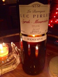 2013 Luc Pirlet Syrah-Mourvedre Pays D'Oc