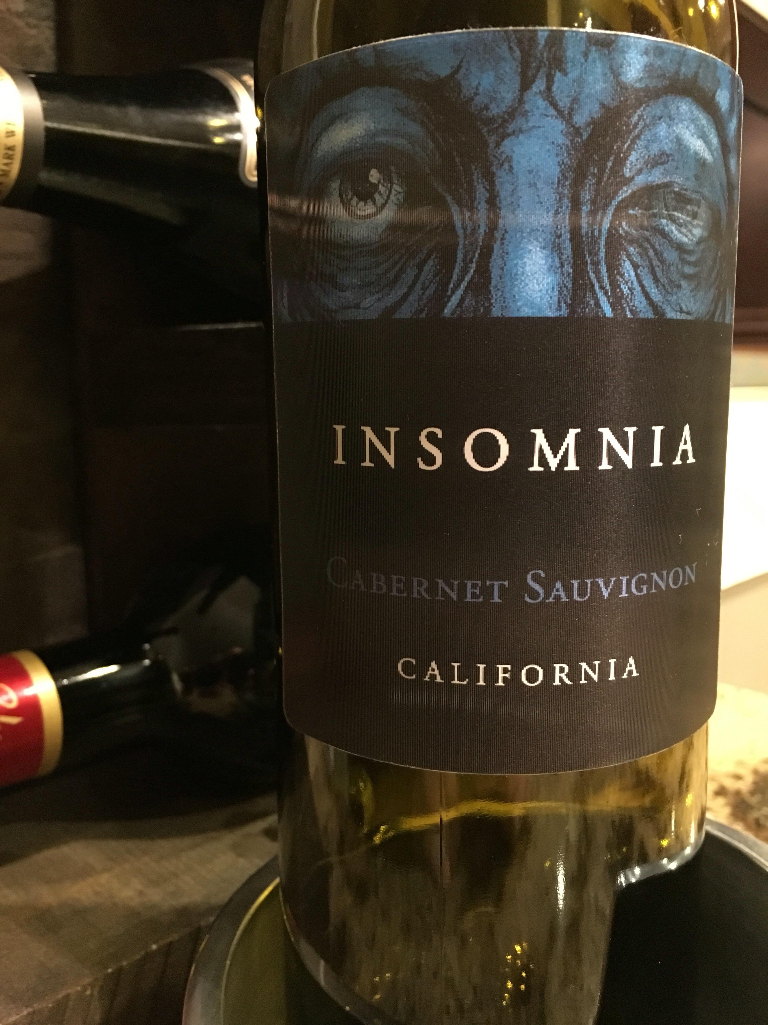 2012 Insomnia Cabernet Sauvignon
