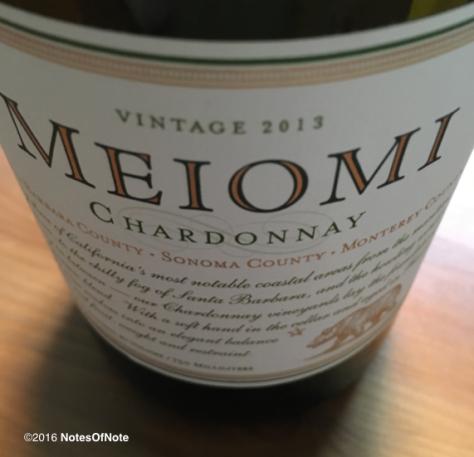 2013 Meiomi Chardonnay, Meoimi Wines