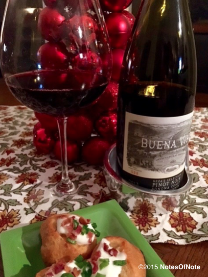 2013 Geza's Selection Pinot Noir, Buena Vista, Sonoma County, California, USA.