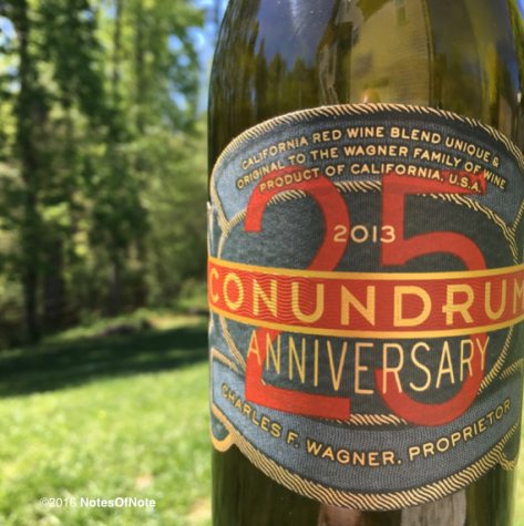 2013 Conundrum, The Wagner Family of Wines, California, USA.