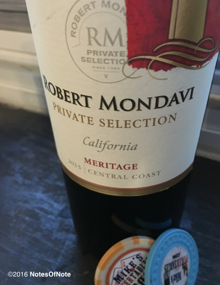 2013 Robert Mondavi Winery Private Selection Meritage
