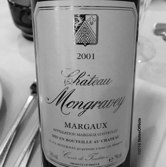 2001 Bordeaux, Chateau Mongravey, Margaux, France
