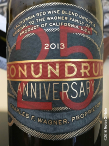 2013 Conundrum 25th Anniversary Red Blend, Conundrum Wines