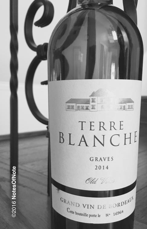 2014 Terre Blanche Grand Vin de Bordeaux, Graves, Bordeaux, France.